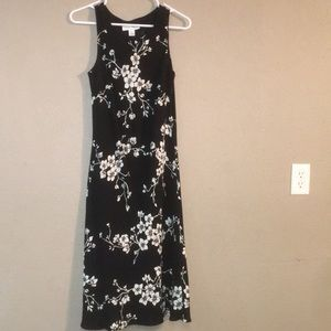Black White Casual Corner Size 8 Maxi Dress